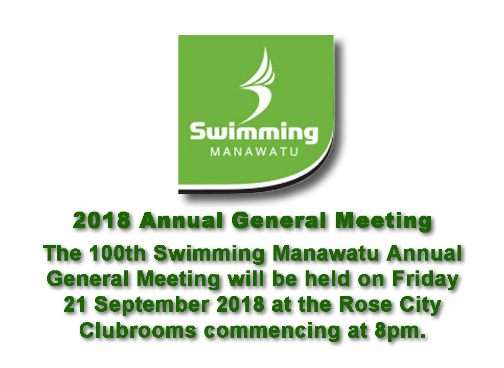 100th Swimming Manawatu AGM